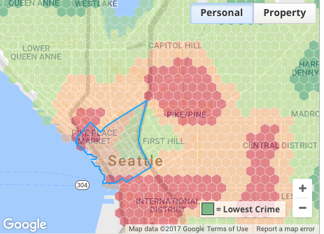 Capitol Hill safe Belltown Seattle Republic apartment crime