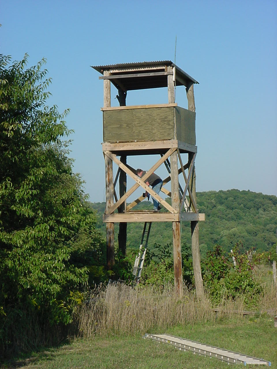observation tower building plans