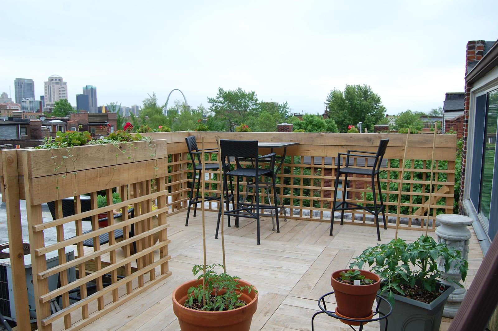 Rooftop Gardens? (St. Louis, Benton: houses, floor, garden ...