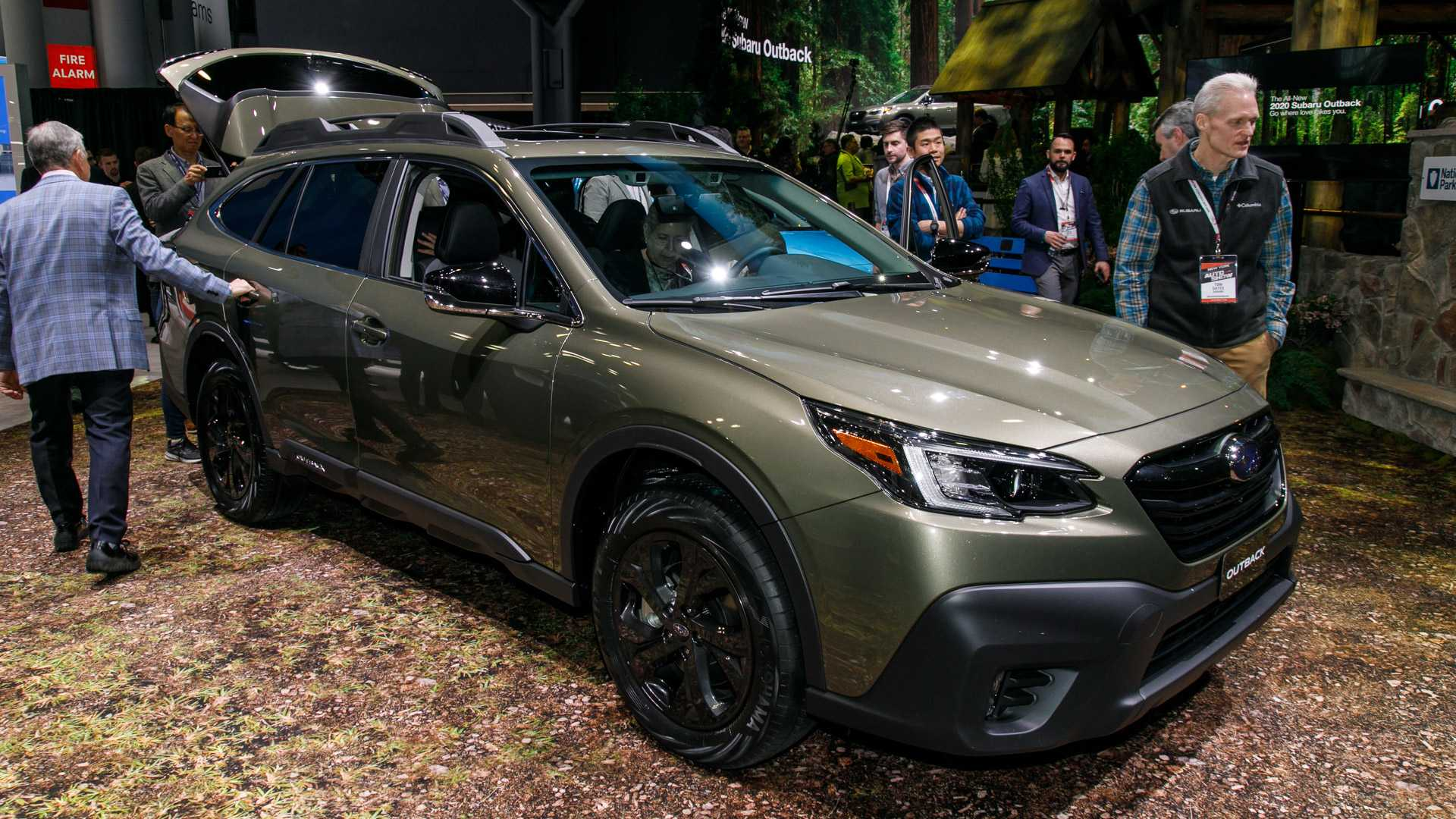 Ny Auto Show 2020.2020 Outback Unveiled At Ny Auto Show Subaru Car Forums