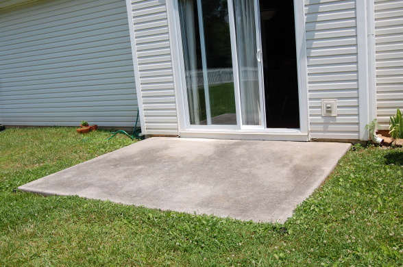 Extending Concrete Patio Slab Need Contractor/handyman Referral  Concrete_slab Extending