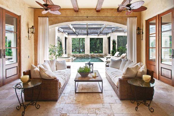 Bronze or white for pool screen enclosure lake magdalene for Cost to build a lanai