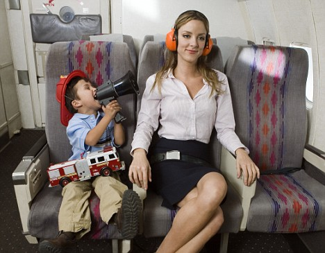 news no phone and child free zones on airplanes kidonplanejpg - Child Pictures Free