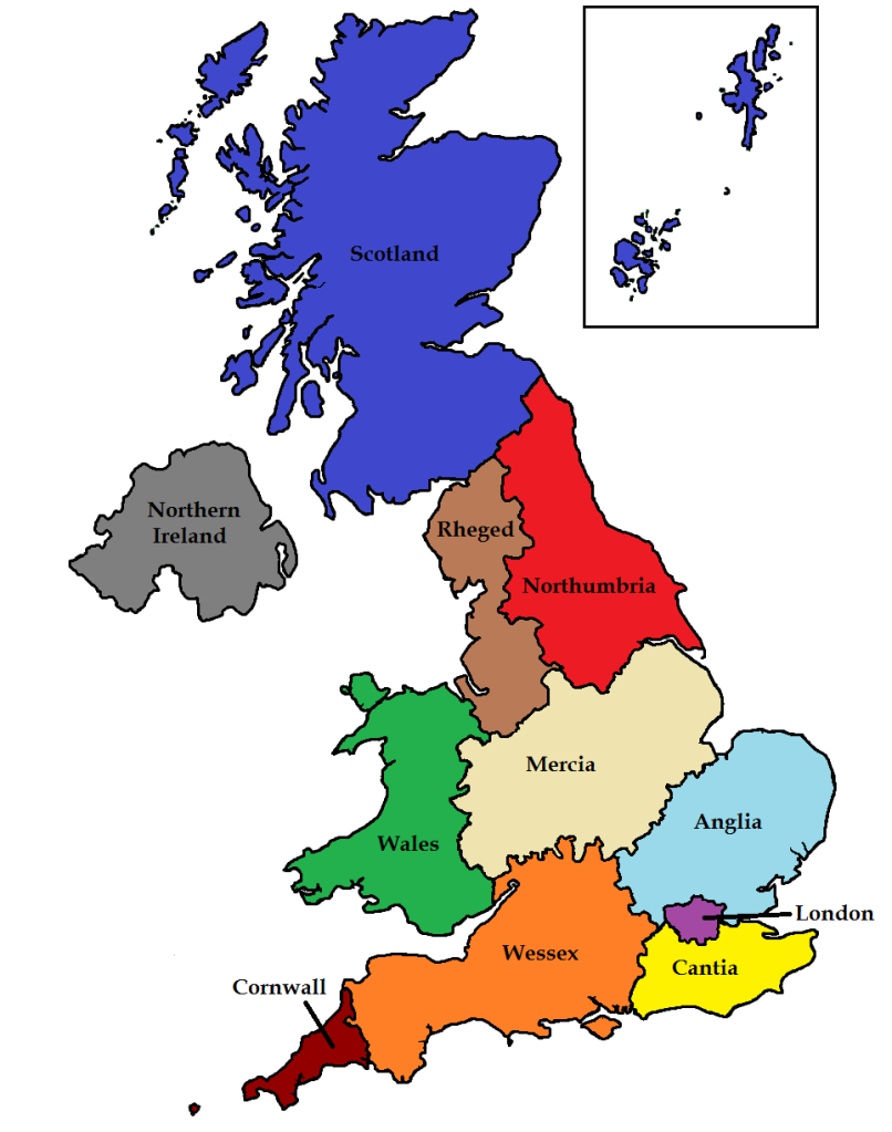 If Britain Was To Become Federal Should The English States
