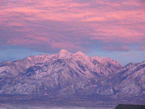 Sunset In Utah