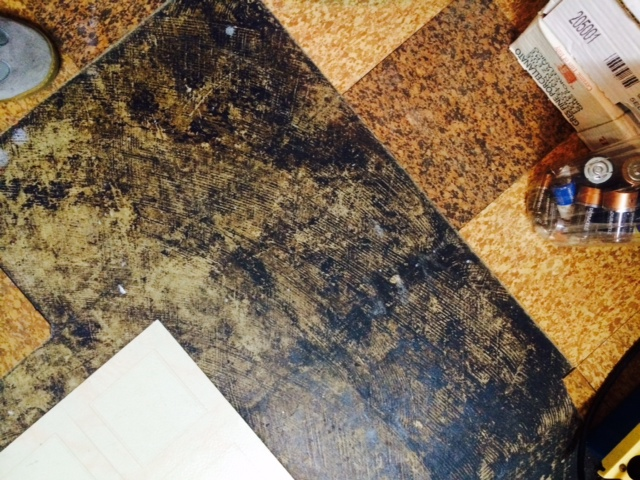 Mastic for floor tile