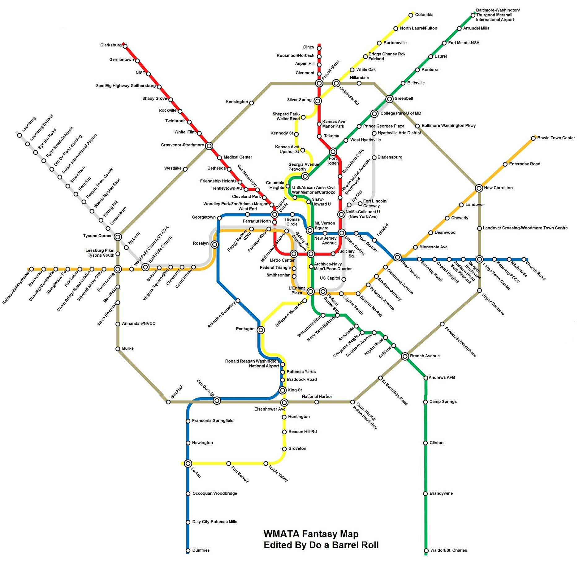 Your dream metro line... (insurance, live, beach) - Washington, DC ...