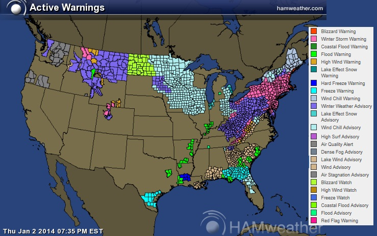 Winter 2013-14 Thread — Northern Hemisphere (snowy, warm, record