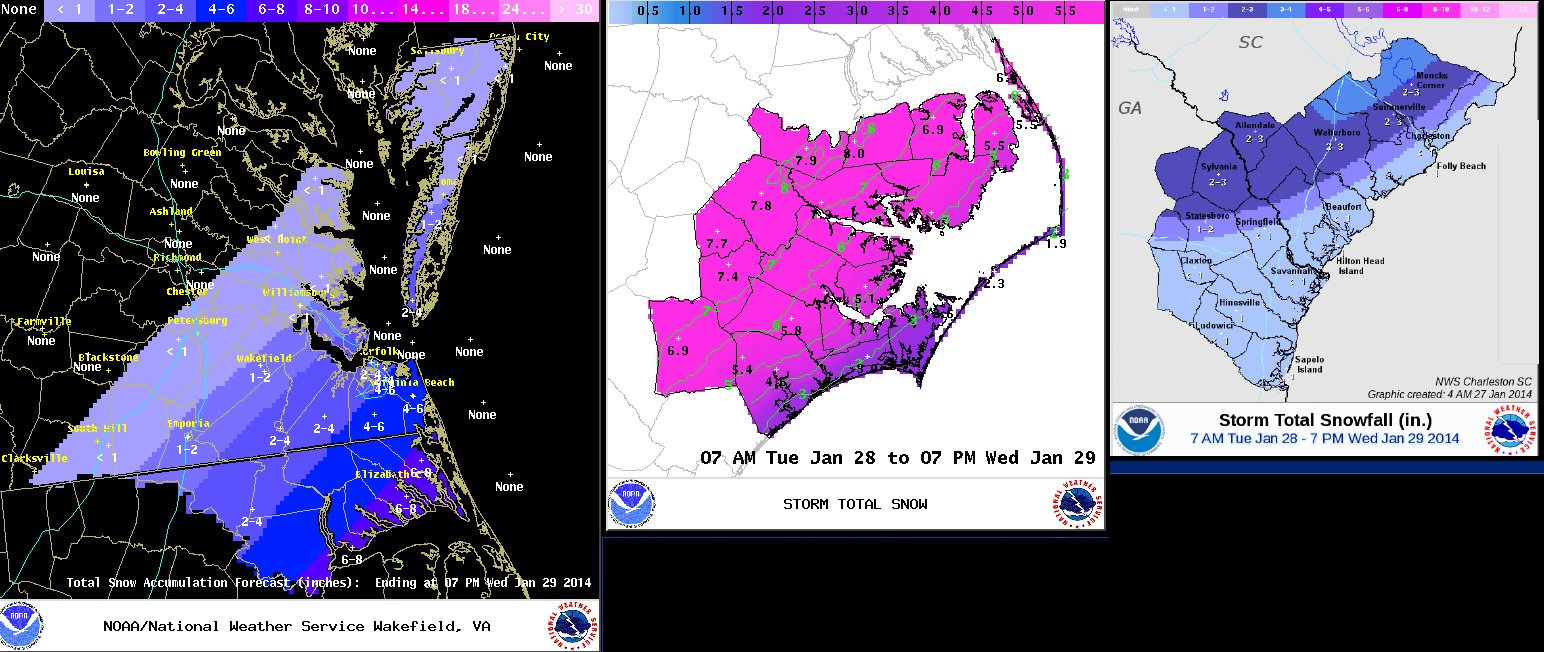 animation of the forecast nws snow total forecast from nws