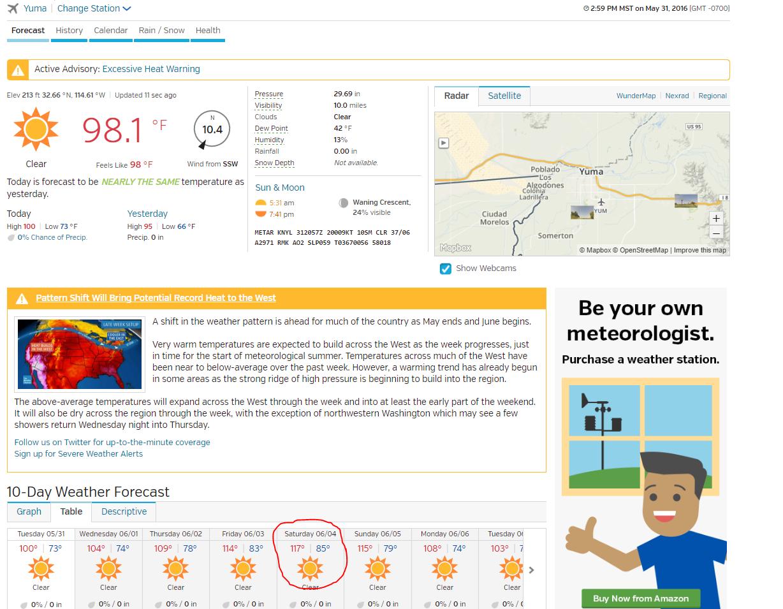 10 day forecast san diego