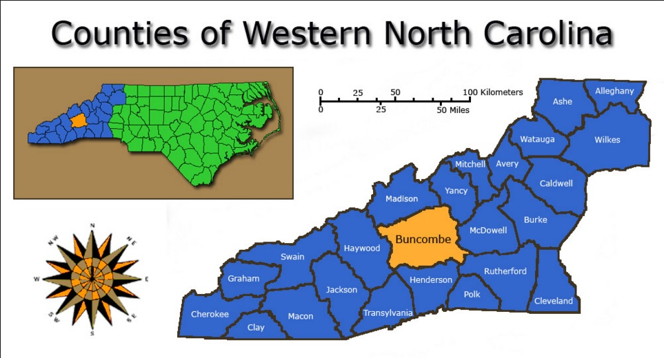 Avery County Nc Property Map