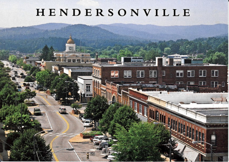 Gimme the best small town in western nc asheville black for Best small towns in north carolina