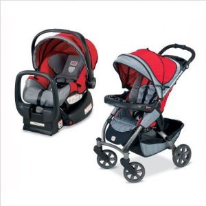 Review of Britax Chaperone Travel System Stroller in Red Mill ...