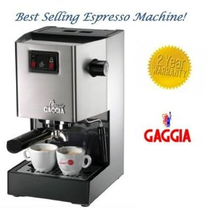 Expensive Coffee Maker Reviews : Review of Gaggia Classic Espresso Maker (price, reviews, coffee, expensive) - Product Reviews ...