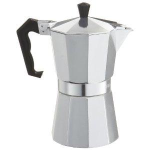 Primula Stovetop Espresso Coffee Maker 6 Cup Aluminum