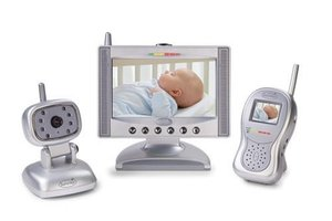 review of summer infant complete coverage color video monitor set with 7 quot. Black Bedroom Furniture Sets. Home Design Ideas