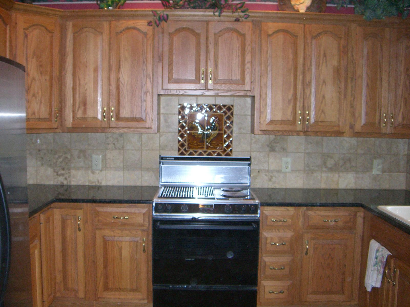 Kitchen Backsplash Pictures Casual Cottage