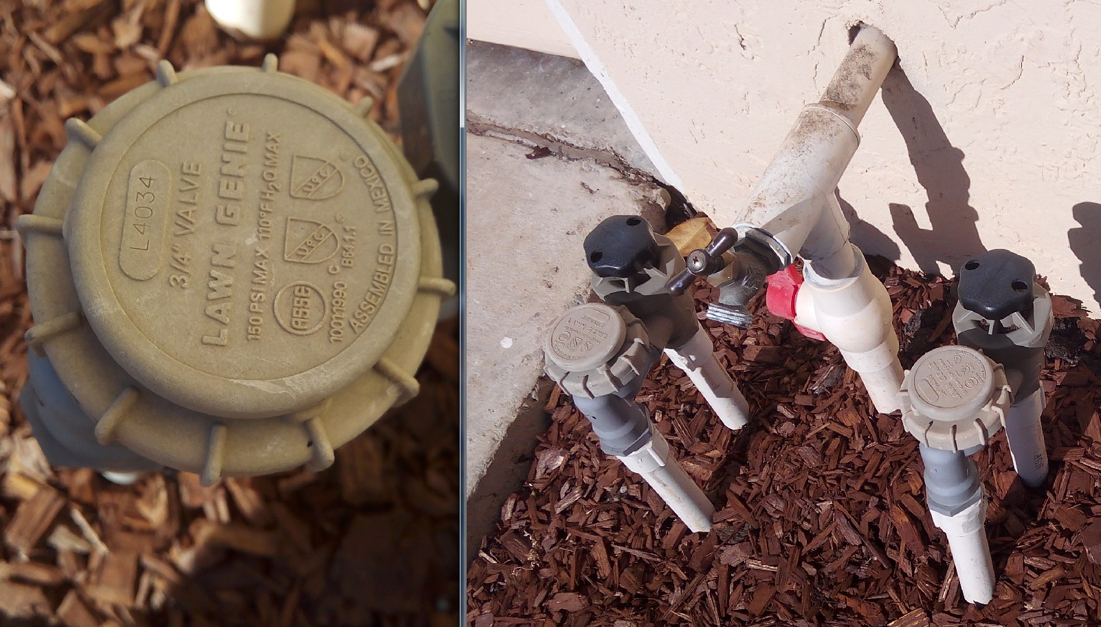 how to add water timer to these pipes (Home Depot, installation ...