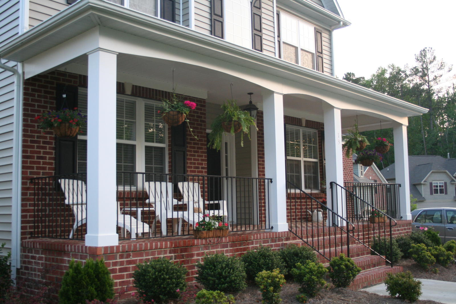 My picture perfect porch durham requirements driveway Front porch ideas