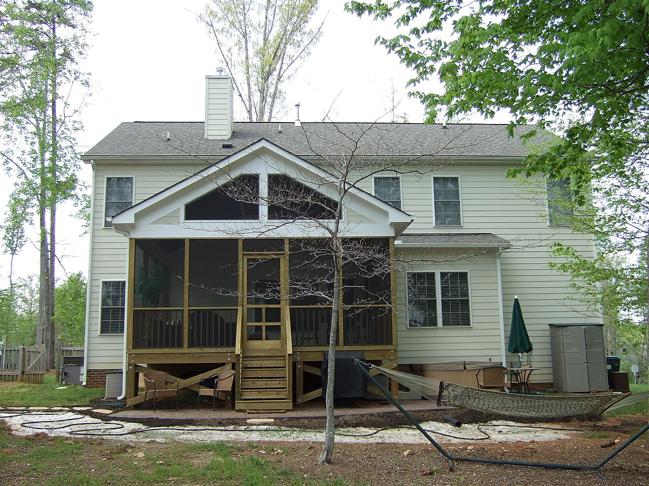 Stamped Concrete Screened Porches : Chad d collins s album a screen porch and stamped