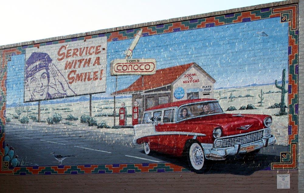 Clairz 39 s album my clovis picture city data forum for Cleveland gas station mural