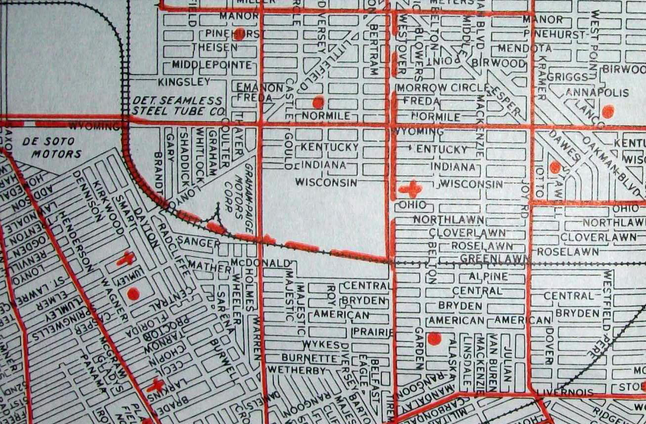 Old Maps: American Cities In Decades Past (Warning-Large Images ...