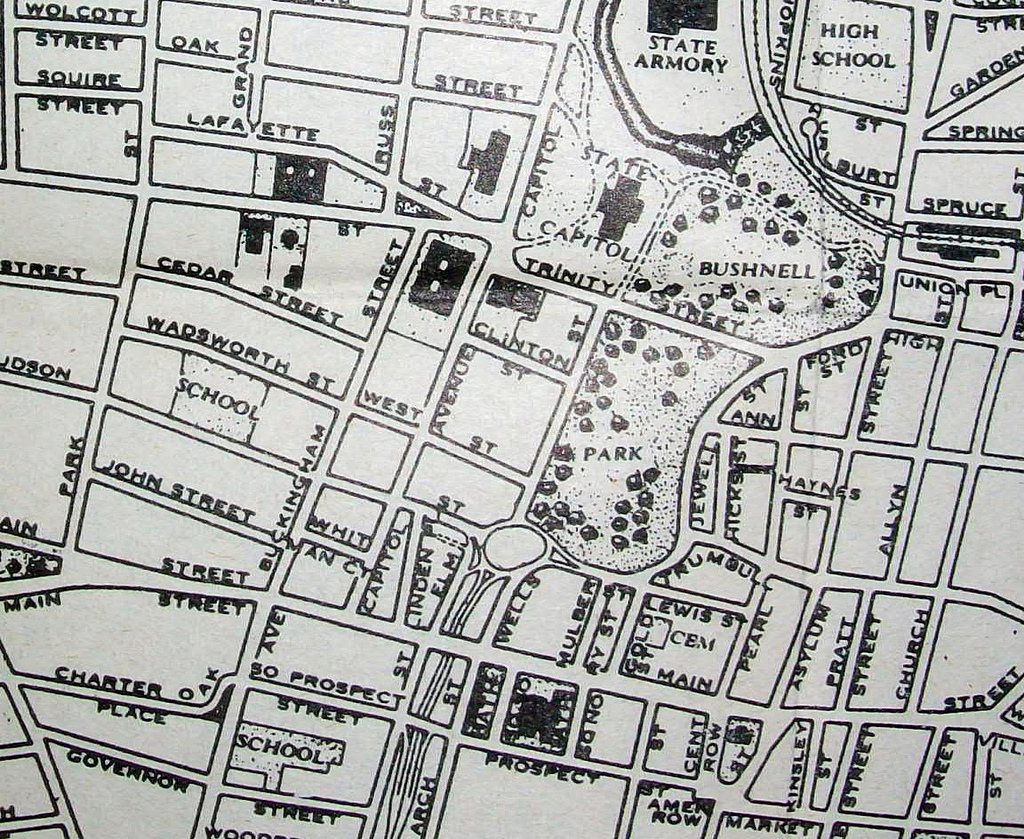 Davidalss album cities maps legends picture city data forum hartford ct 1944 map by lacroix publications included in a small pocket sized sciox Images
