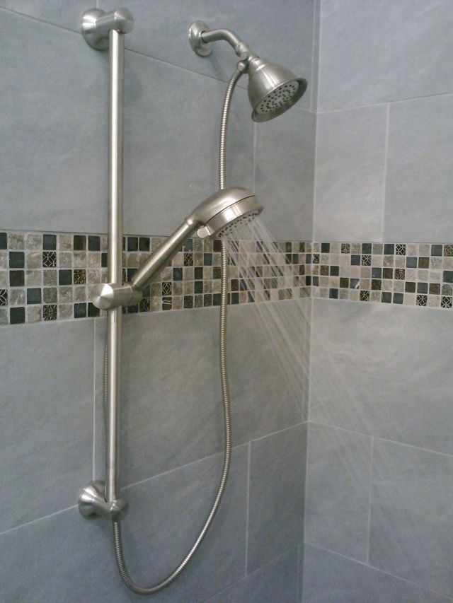 How To Setup A Hand Shower With A Bar Install Showerhead