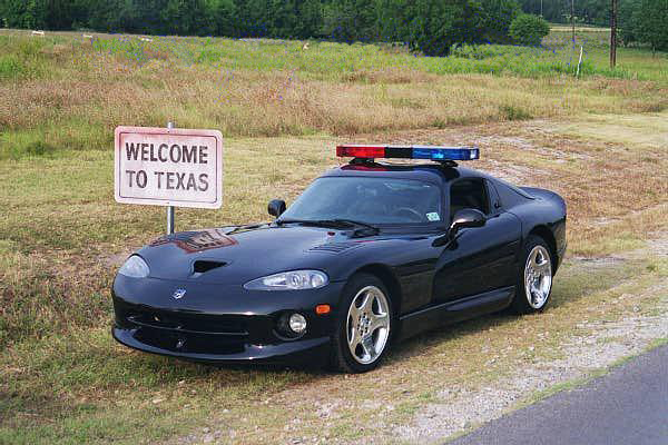 Dodge Viper Police Car