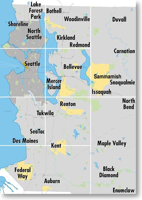 Seattle Subforum Includes all of King County Bellevue Federal Way