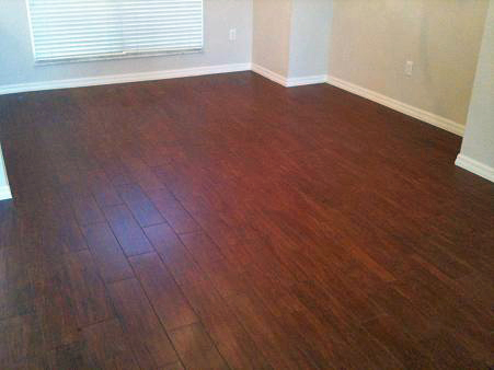 A relationship was saved when we discovered porcelain tile that looks like  hardwood. Even better is that decorators rave about it. Here are some  pictures: - Best Flooring Option For Home With Pets (carpeting, Tile, Upstairs
