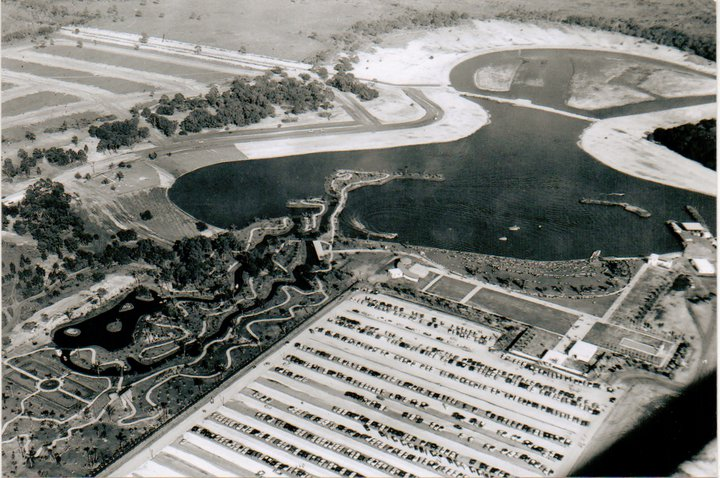 Some old pictures of the sarasota area orlando for Koi pond builders orlando fl