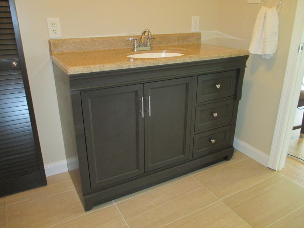 repurposing older items for bathroom update shutter. Black Bedroom Furniture Sets. Home Design Ideas