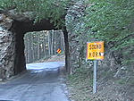 Tunnel on Iron Mountain Road in the Black Hills