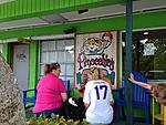 Pinocchio's Ice Cream on Sanibel, Florida