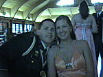 Josh and his now fiancee', Lindsay - at the Military Ball....same night as Alex's wedding, and yes, I mey myself coming and going...