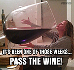 Pass the wine