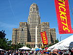 Buffalo City Hall - Taste of Buffalo 2007