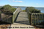 Foot Bridge at Main Beach in Golden Beac