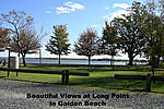 Gorgeous views and picnic area at Long Point in Golden Beach