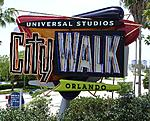 CityWalk entrance sign