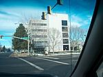 One of Longmont's two 'towers'.  This is the 1ST Bank mid-rise on the corner of 17th and Main.  A few years ago it had a black exterior but i like...
