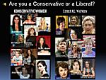 Conservative/Liberal women