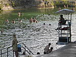 Barton Spring Pool and Zilker Hillside Theater