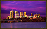 Tulsa picture Tulsa's best skyline picture Tulsa-Oklahoma Population of 385,635 Tulsa City Tulsa Skyline. This is a award winning photograph