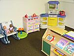 The One Year old Room -- New Horizons School has very large and clean rooms for one, two, three, and four year old children.