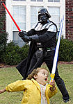 darth vader vs child