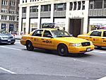 Taxis are everywhere