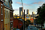 Northside view of Downtown - Deutschtown Neighborhood.  http://www.pittsburghrealestateexperts.com/pittsburgh-photo-gallery/
