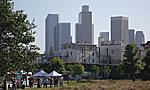 Los Angeles State Historic Park (The Corn Fields), Downtown skyline, 5.27.11